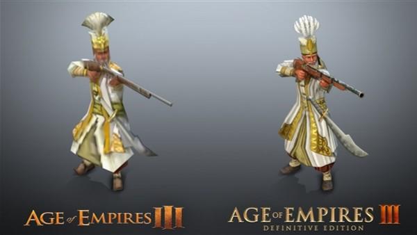 对比原版 《帝国时代3》重置后:4K画质超清晰